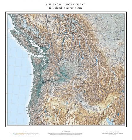 pacific northwest the columbia river basin map