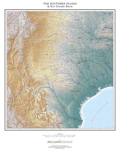 The Southern Plains & Rio Grande Basin Map