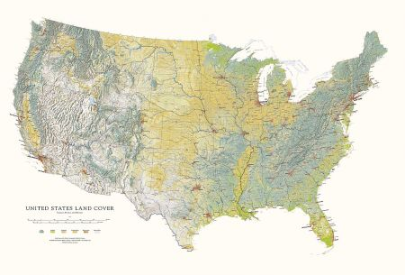 United States - Land Cover Map