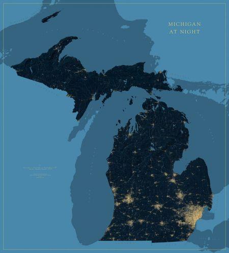 Michigan at Night Map on tawas michigan, battle creek michigan, map of georgia, map of europe, map of mexico, map of china, map of texas, midland michigan, map of africa, map of canada, houghton michigan, map of italy, map of south carolina, saginaw michigan, map of the world, map of usa, map of us, map of virginia, portage michigan, pontiac michigan, map of california, dearborn michigan, port huron michigan, map of ohio, pictured rocks michigan, beaver island michigan, romeo michigan, hell michigan, new buffalo michigan, ionia michigan, road map michigan, troy michigan, manistee michigan, map of north carolina, map of germany, cities in michigan, map of florida, ludington michigan,