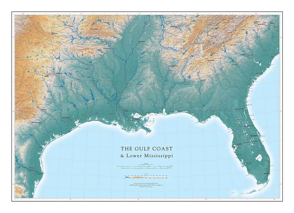 THE GULF COAST & Lower Mississippi